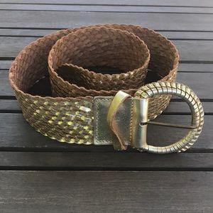 Chicos gold belt